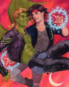 Marvel Fan Art, Marvel Dc Comics, Young Avengers, Marvel Avengers, Wiccan Marvel, Funny Marvel Memes, Lost Boys, Boy Art, Marvel Characters