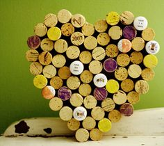 A wine cork cork board.  As if I needed an excuse to drink more wine...