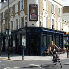 Duke of Cambridge, London, England - English Pub - UK's 1st and only certified organic gastropub (by the Soil Association).