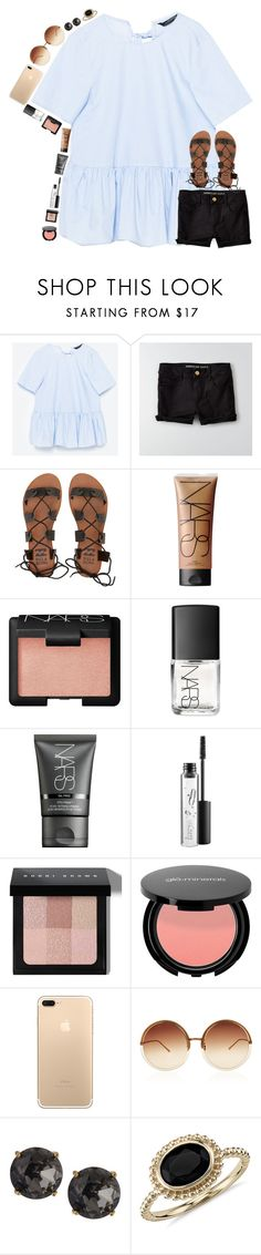 """""""Spring break!"""" by classyandsassyabby ❤ liked on Polyvore featuring Volant, American Eagle Outfitters, Billabong, NARS Cosmetics, MAC Cosmetics, Bobbi Brown Cosmetics, Linda Farrow, Emily & Ashley and Blue Nile"""