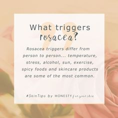 Want to know what it's really like living with rosacea? No doctors textbooks, no perfect 'you must do this if you have rosacea answers', just the real honest rosacea truth? Then you absolutely must read this interview with rosacea butt-kicker Lex from TalontedLex.co.uk