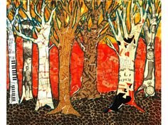 colorful tree abstract modern - Google Search