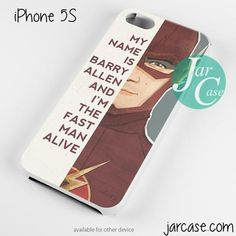 The Flash Quotes Phone case for iPhone 4/4s/5/5c/5s/6/6 plus