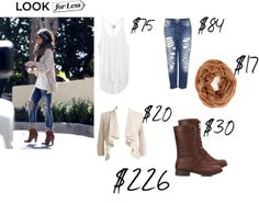 """Celeb Look For Less: Selena Gomez"" by krazykoolness on Polyvore"