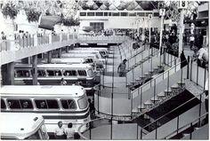 Movimento em 1977: terminal recebia até 2.500 ônibus por hora e afetava trânsito - Acervo/Estadão