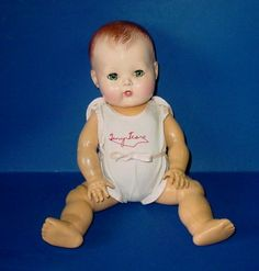 Oh how I loved my Tiny Tears Doll. I bathed my first one so much I wore her out & luckily, was gifted with another one. Still have her, in her original box. Effanbee Dolls, Blythe Dolls, Old Dolls, Antique Dolls, Doll Toys, Baby Dolls, Tiny Tears Doll, Dolls Prams, School Items