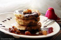 Pancakes z mąki kukurydzianej