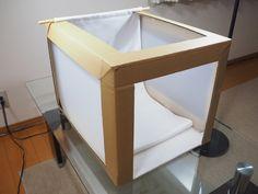 ホームセンターで買える材料で低予算ライトボックスを作りました!ネットショップでのハンドメイド作品販売をお考えの方は必見です。