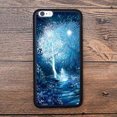 Tree of Light And Girl Case For IPhone