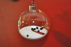 melted snowman ornament- I will attach this poem to it: You were my snowman, My only snowman, you made me happy, on days of gray, but then the sun came, and it wasnt the same, cause it took my snowman away :) christmas