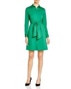 Lafayette 148 New York Brielle Tied-Waist Shirt Dress | Bloomingdale's