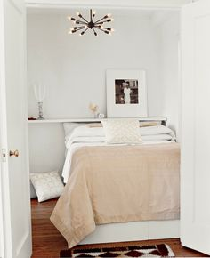 Serenity in a Small Place - the smaller the space, the more subtle the color palette