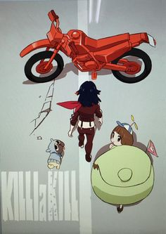 PS: pqxv tbfoa | KILL la KILL (キルラキル) illustration by character...