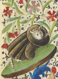 cat-holic friar book of hours, France 15th century BnF, Latin 1178, fol. 37v