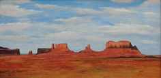 Monument Valley by Bill Brauker Western Landscape, Mittens, Monument Valley, Westerns, Greeting Cards, Wall Art, Painting, Fingerless Mitts, Painting Art