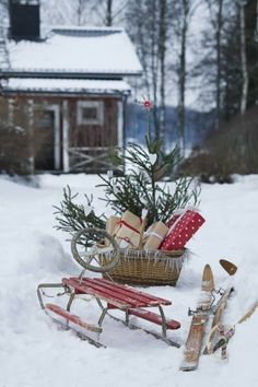 SPACE FOR INSPIRATION:  Let it snow!!
