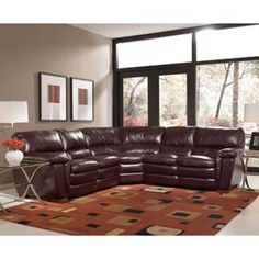 Costco - Durango Top Grain Leather Sectional
