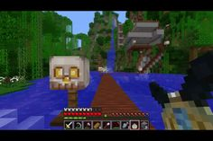 Watch ihascupquake on youtube i love this series watch it all the time its called minecraft oasis u must watch it