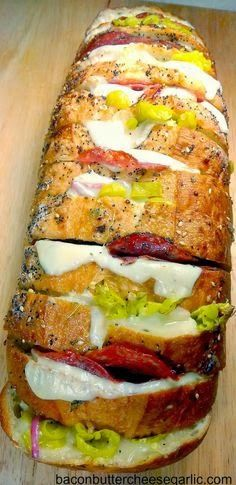Favorite Recipes: Italian Deli Crazy Bread