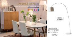 Lámpara de pie en forma de arco. Un diseño sencillo que dará un aire moderno a tu salón o zona de lectura. Nos acaba de llegar a nuestra tienda de Madrid. http://www.originalhouse.info/