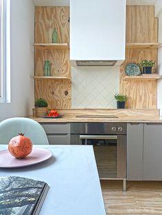 Love my kitchen! Wood in the kitchen