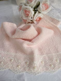 Lace Towel by cityofangel on Etsy https://www.etsy.com/listing/207135866/lace-towel