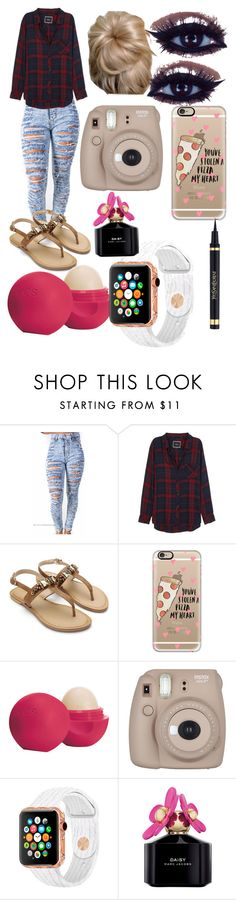 """Polaroid Moments"" by flawlessn28 ❤ liked on Polyvore featuring Rails, Casetify, Eos, Marc Jacobs, Yves Saint Laurent, PolyPower and nscreations"