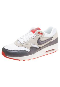 nike air max 1 essential wit grijs