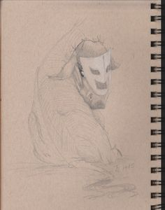 Day 5 of the 365 days of Art Title: Donkey Drama Artist: Theresa Elliott-Lofton