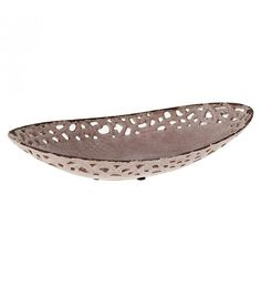 CERAMIC PLATE IN PINK COLOR 38X18_5X9
