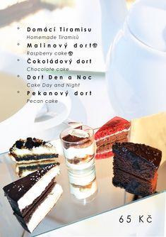 Další ukázka našeho dezertního menu na kavárně. Homemade Tiramisu, Pecan Cake, Cake Day, Raspberry Cake, Chocolate Cake, Cheesecake, Desserts, Cake Chocolate, Tailgate Desserts