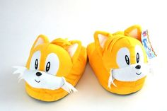 """Miles """"Tails"""" Prower Slippers - Fark Shop"""