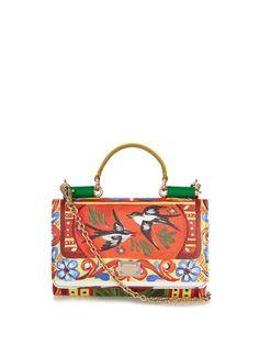 Disco bird-print leather cross-body bag | Dolce & Gabbana | MATCHESFASHION.COM