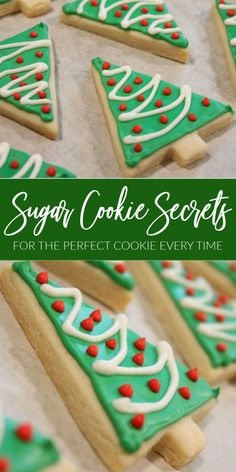 Cutout Sugar Cookie Recipe + SECRETS for Perfect Cookies! Cutout Sugar Cookie Recipe + SECRETS for Perfect Cookies! The Best Sugar Cookie Recipe EVER! This Sugar Cookie Recipe is fool proof + get my Favorite Tips for Making the Perfect Sugar Cookies! Best Sugar Cookies, Christmas Sugar Cookies, Sugar Cookies Recipe, Christmas Baking, Holiday Baking, Christmas Sweets, Frosting For Christmas Cookies, Recipes For Christmas Cookies, Christmas Cookies Cutouts