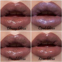 Nude LipSense with different glosses. All day lipstick ❤️ www.senegence.com/AZGlamGirl