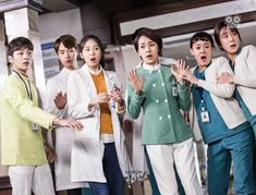 Korean Drama 2017, Korean Drama Movies, Korean Actors, Korean Dramas, Jae Lee, Lee Sung Kyung, Kim Rae Won, Romantic Doctor, Second Doctor