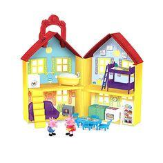 "x Fisher-Price Peppa Pig' Peek 'n Surprise Playhouse Playset -  Fisher-Price - Toys""R""Us"
