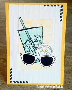 stampin spring coffe cafe coffe to go pocket ful of sunshine tasche voller Sonnenschein kaffee , ole frühling Card karte