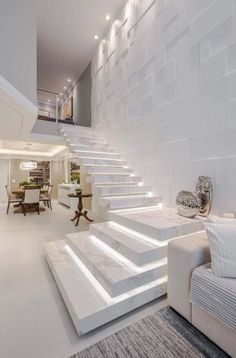 Home Stairs Design, Home Building Design, Home Room Design, Dream Home Design, Modern House Design, Home Interior Design, Modern Stairs Design, Modern House Facades, Interior Staircase