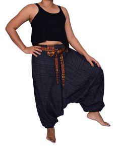 New Harem PantsCoconutAladdin PantsYoga Pants Drop by FANZYDESIGN