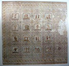 Το ψηφιδωτό με τους μήνες από τον αρχαίο Θύσδρο της Τυνησίας | ΕΥΡΗΜΑΤΑ | LiFO