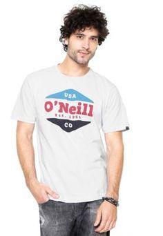 Camiseta O'Neill Dialogue Branca