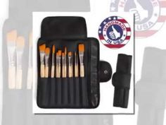 Student Artist Brush Set   Synthetic Artist Paintbrushes - YouTube Craft Online, Artist Brush, Wooden Handles, Paint Brushes, Craft Videos, Brush Set, Lovers Art, Art Quotes, Arts And Crafts