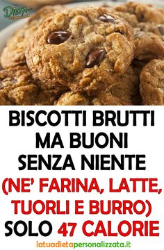 Easy Homemade Recipes, Sweet Recipes, Healthy Recipes, Diet Cake, Italy Food, Clean Diet, Light Recipes, Original Recipe, Biscotti