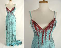 Image result for bloody ripped dress