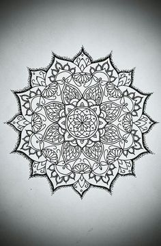 Maybe on the back of my hand :) 10 Mandala Designs For Your Inspiration | Lyemium