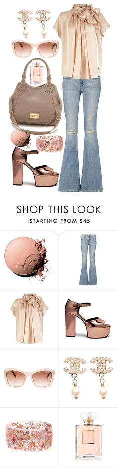 """""""Outfit #562"""" by sofi6277 ❤ liked on Polyvore featuring Chanel, Current/Elliott and Mulberry"""