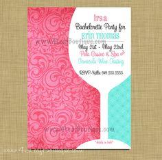 95 Best Bachelorette Invites Images Bachelorette Invitations