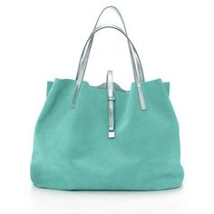 TRT: Tiffany Reversible Tote - pretty color, would never paint an entire room with it though