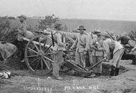 Boer Wars  Boer artillery at Ladysmith, South Africa, circa 1899